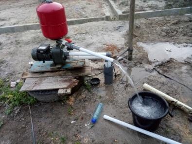 Sumur Bor Dangkal